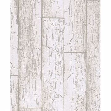 Picture of Esmee Off-White Wood Wallpaper