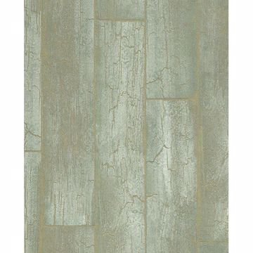 Picture of Esmee Green Wood Wallpaper