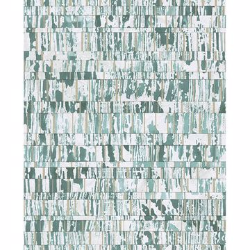 Picture of Demi Teal Abstract Wallpaper