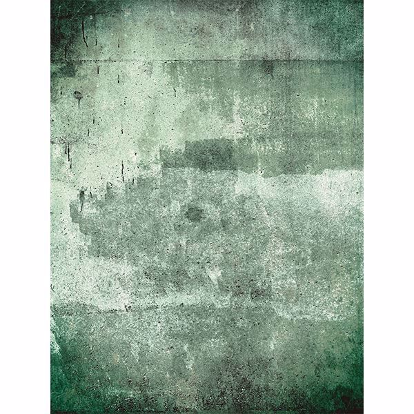 Picture of Green Weathered Wall Mural