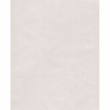 Picture of Holstein Off-White Faux Leather Wallpaper