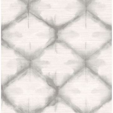 Picture of Zanzibar Grey Shibori Wallpaper