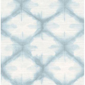Picture of Zanzibar Blue Shibori Wallpaper