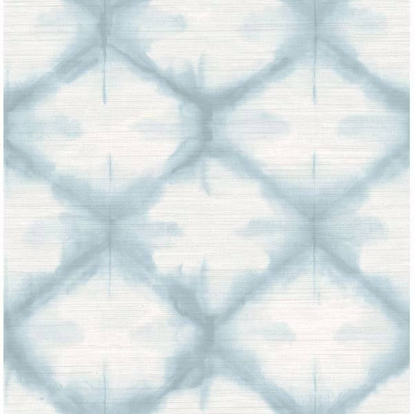 Picture of Zanzibar Blue Shibori Wallpaper