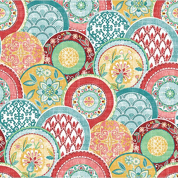 Picture of Laguna Coral Plate Wallpaper