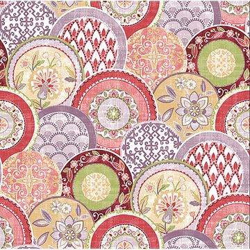 Picture of Laguna Pink Plate Wallpaper