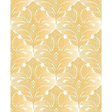 Picture of Balangan Honey Damask Wallpaper