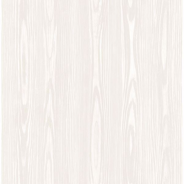 Picture of Illusion Beige Faux Wood Wallpaper