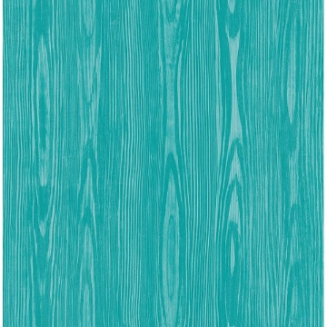 Picture of Illusion Aqua Faux Wood Wallpaper