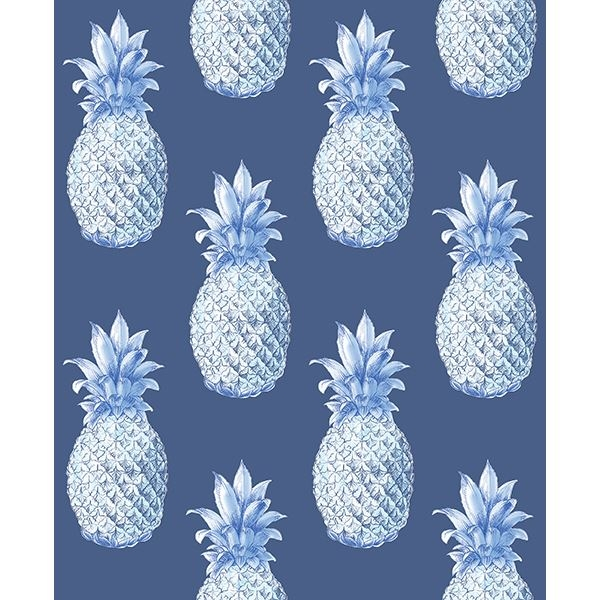 Picture of Copacabana Navy Pineapple Wallpaper