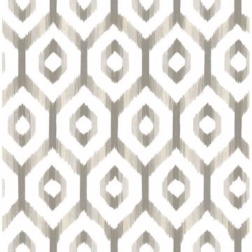Picture of Lucia Grey Diamond Wallpaper