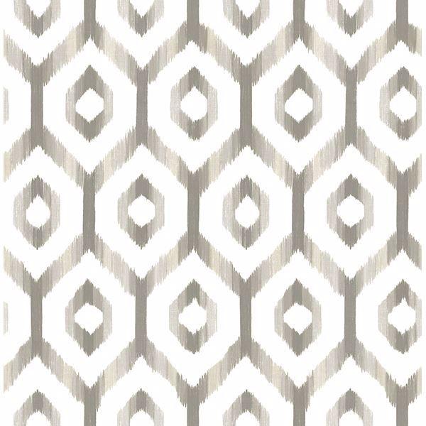 Picture of Lucia Grey Diamond Wallpaper