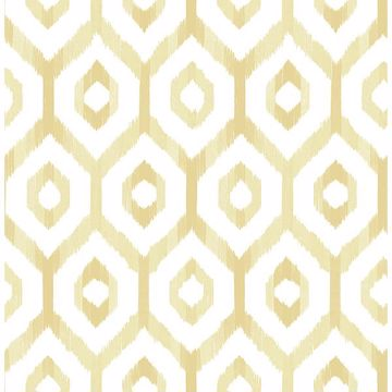Picture of Lucia Yellow Diamond Wallpaper