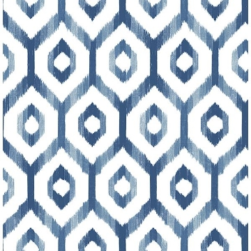 Picture of Lucia Blue Diamond Wallpaper