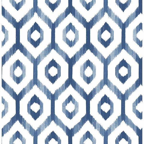Picture of Lucia Blue Diamond Wallpaper