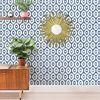 Lucia Blue Diamond Wallpaper