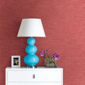 Picture of Exhale Coral Faux Grasscloth Wallpaper