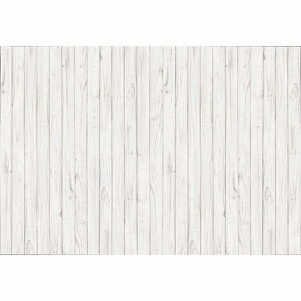 Picture of White Wooden Wall Mural