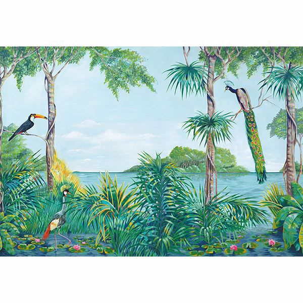Picture of Blue Lagoon Wall Mural