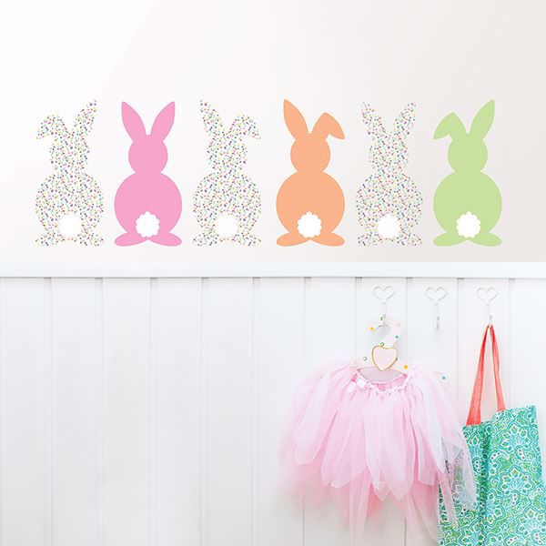 Picture of Bunch of Bunnies Wall Art Kit