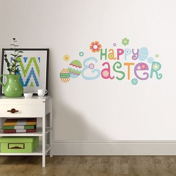 Picture of Happy Easter  Wall Quote Decals