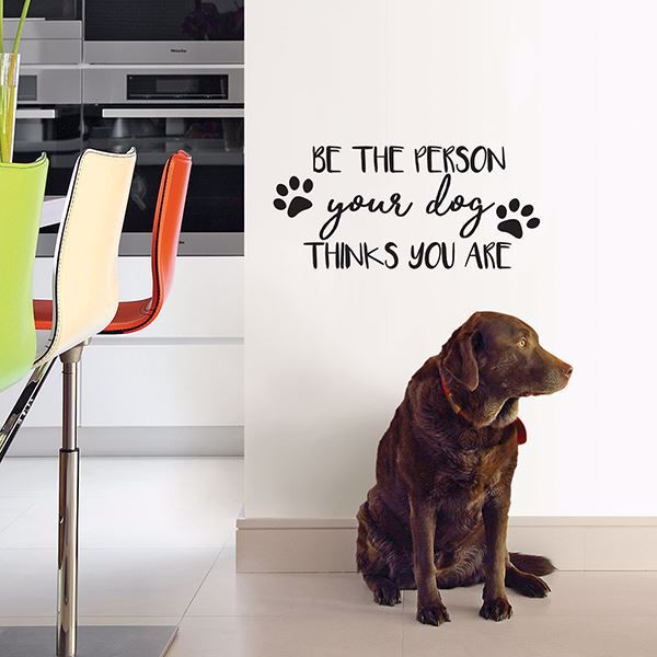Picture of Your Dog  Wall Quote Decals
