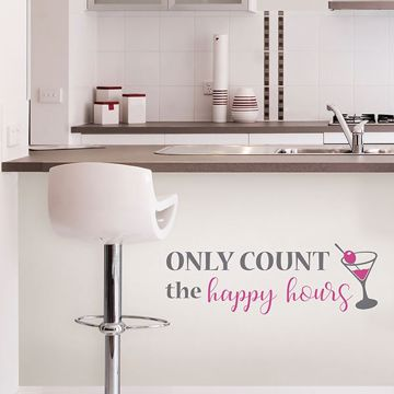 Picture of Happy Hours  Wall Quote Decals