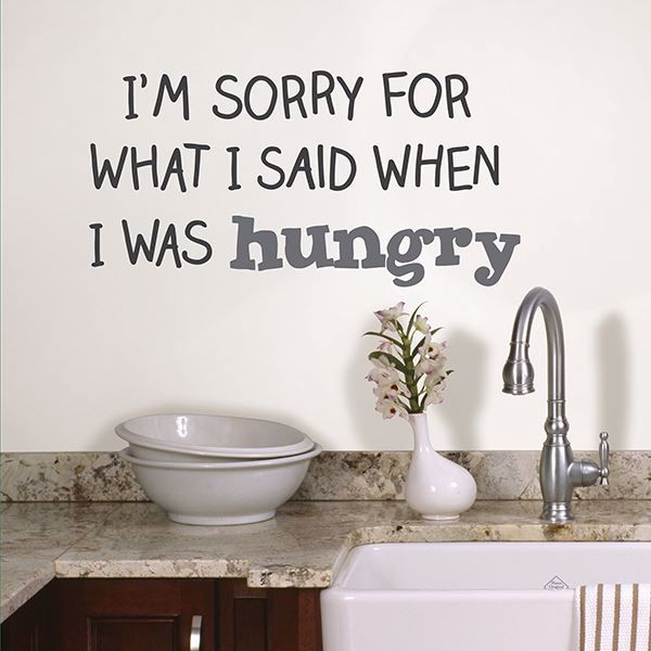 Picture of Hungry  Wall Quote Decals