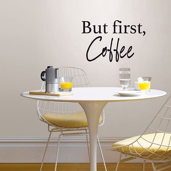 Picture of Coffee   Wall Quote Decals