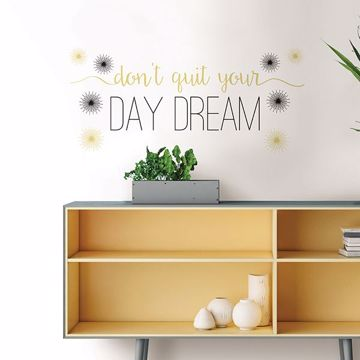 Picture of Day Dream  Wall Quote Decals