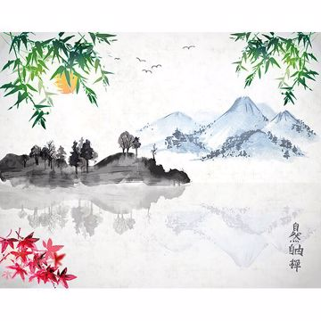 Picture of Chinese Lake Wall Mural