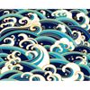 Picture of Japanese Waves Wall Mural
