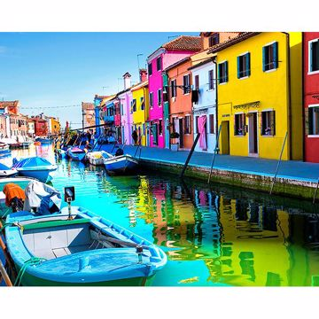 Picture of Color Me Venetian Wall Mural