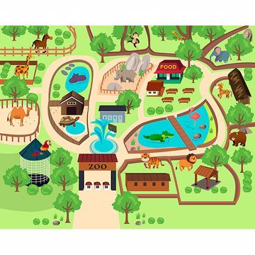 Picture of Zoo Time Wall Mural