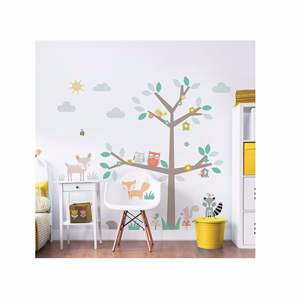 Picture of Woodland Tree & Friends Large Character  Wall Stickers