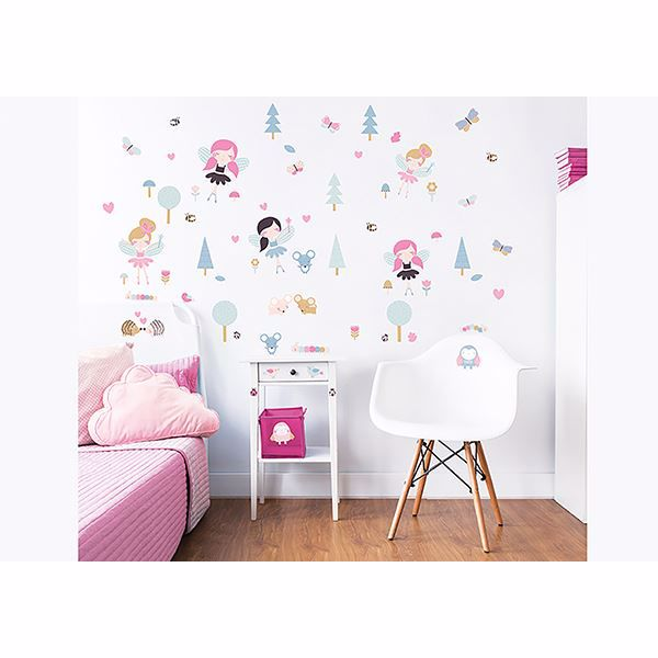Picture of Woodland Fairies & Friends  Wall Stickers
