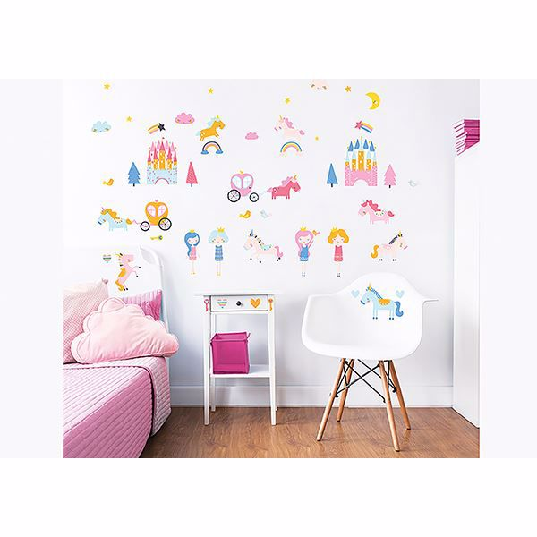 Picture of Unicorn Kingdom  Wall Stickers