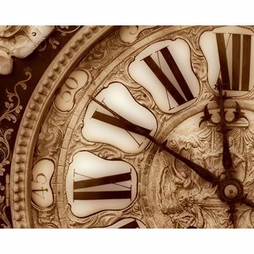 Picture of Vintage Clock Wall Mural