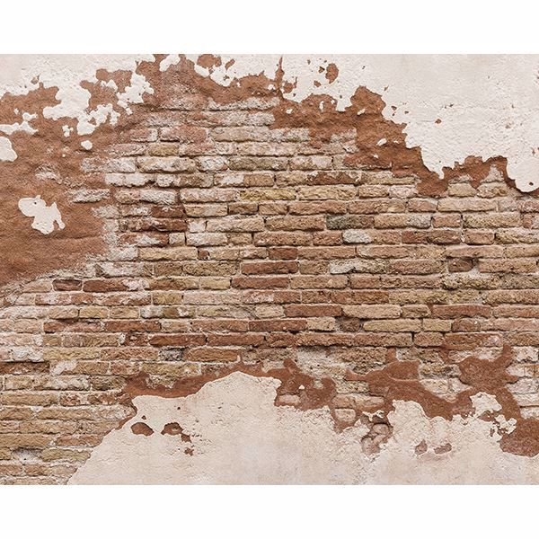 Picture of Distressed Brick Wall Mural