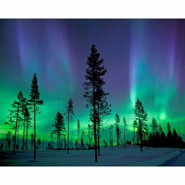 Picture of Aurora Borealis/ Northern Lights Wall Mural