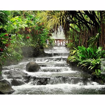 Picture of Tranquil Waterfall Wall Mural