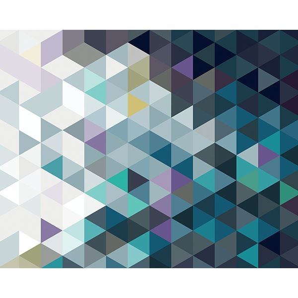 Picture of Abstract Triangles Wall Mural