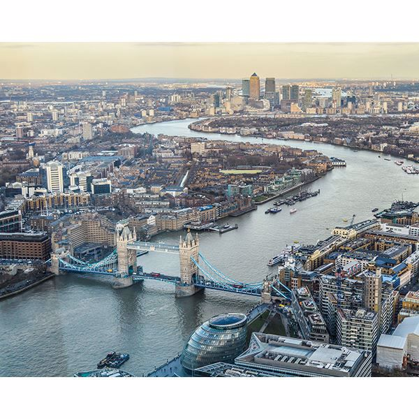 Picture of London Skyline Wall Mural