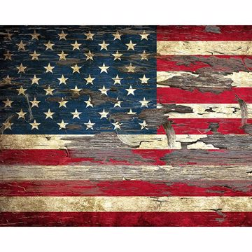 Picture of Stars & Stripes Wall Mural