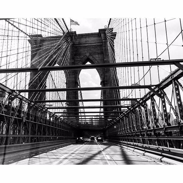 Picture of Brooklyn Bridge Wall Mural