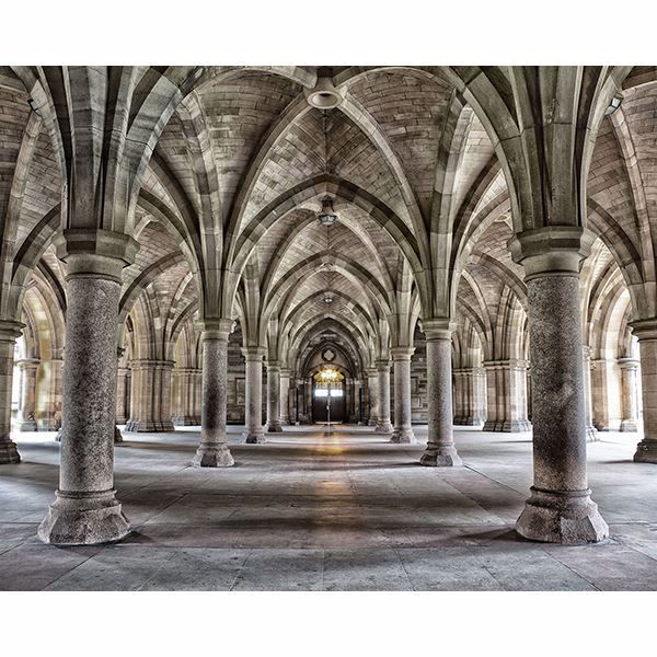 Picture of Gothic Arches Wall Mural