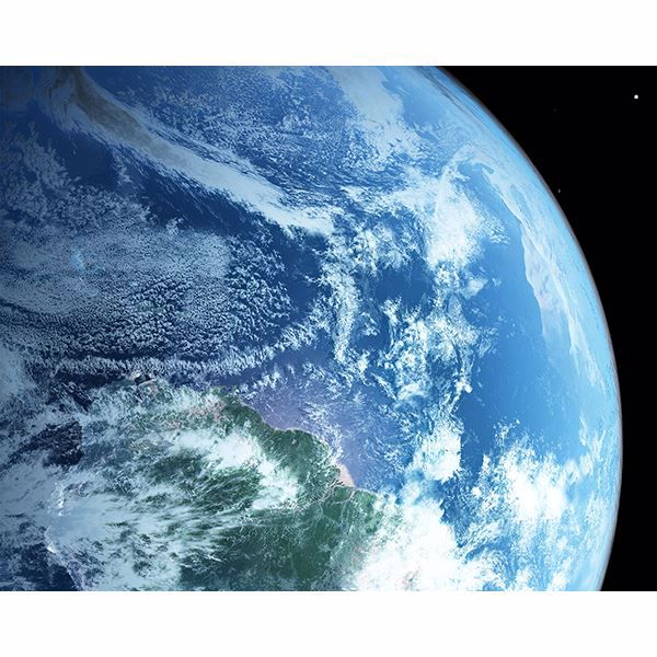 Picture of Earth from Space Wall Mural
