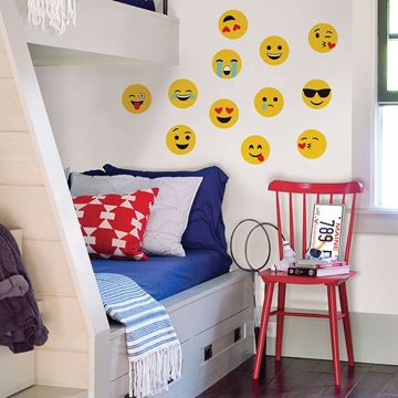 Picture of Emoji  Wall Art Kit