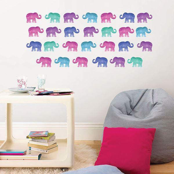 Picture of Elephant Party  Applique Kit