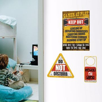 Picture of Gamer At Play Wall Quote Decals